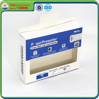 Electronic Product Packaging Cardboard Box with Clear PVC Window