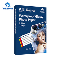 Yesion High quality 115-260gsm glossy inkjet photo paper a4