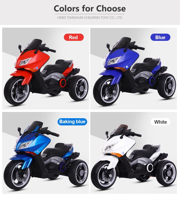 Großhandel fabrik preis beliebte kinder elektrische motorrad roller fahrt auf auto