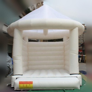 Popular inflatable bouncer/inflatable bouncy castle/ white wedding bounce house factory price