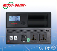 MUST Solar-10amp/20amp cheap power LCD new star computer 1kva 2kva ups inverter