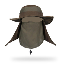 e79e9f97 Add to Favorites. Custom summer outdoor sports sun hat neck cover flap upf  50+ wide brim fishing jungle safari ...