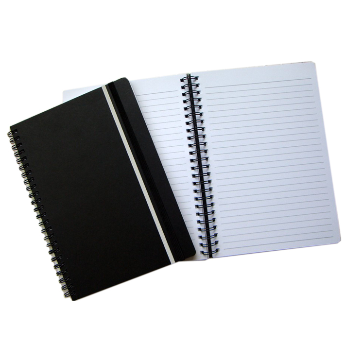 Wholesale spiral notebook A4 size paper