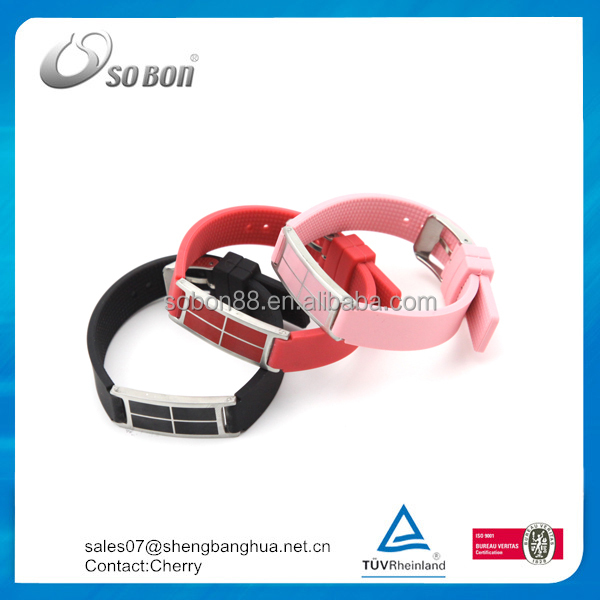 Factory Price Custom Hand Bracelet Silicone Wrist band Rubber Bracelet