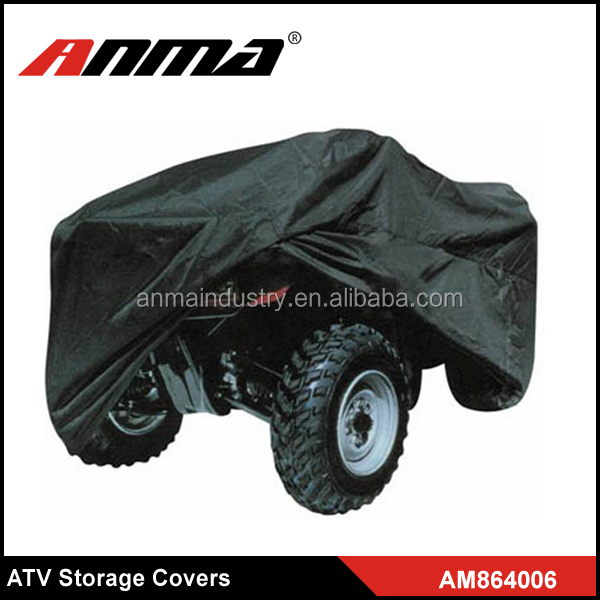 Black Good quality trailerable ATV Weather Covers