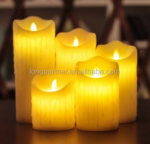China Manufacturer OEM / ODM dancing flame led candle