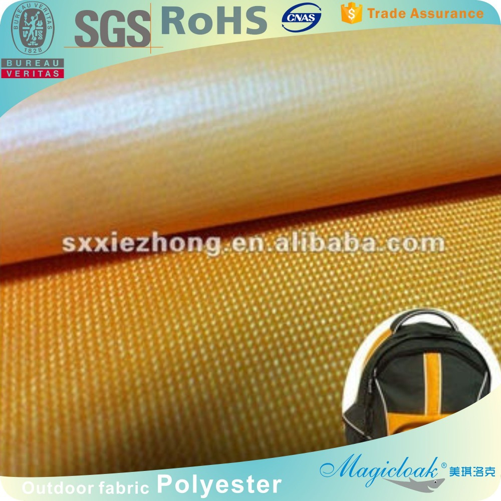 600D Waterproof Oxford Flat PVC Bag Fabric