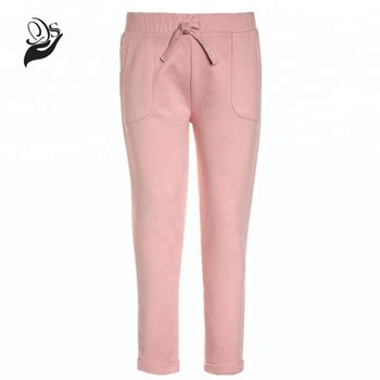 f42d971d3d Straight Leg Fit Elastic Waist 100% Cotton Girls Tracksuit Pants - Buy Girl  Tracksuit Bottoms,Girls Cotton Pants,Girls Casual Trousers Product on ...