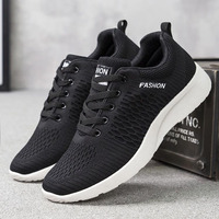 New design Fashion Men Comfortable Breathable Sport casual Running Textile Upper Fitness Sports Shoes