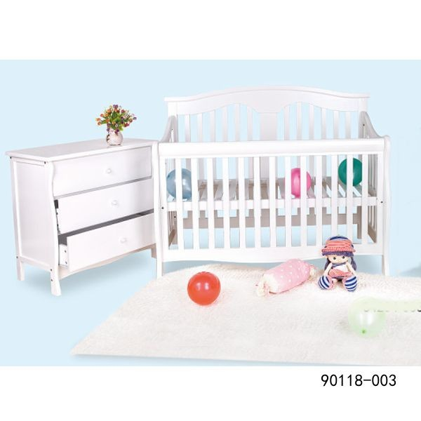 wooden bed new born baby bed wooden baby bed 90118-002