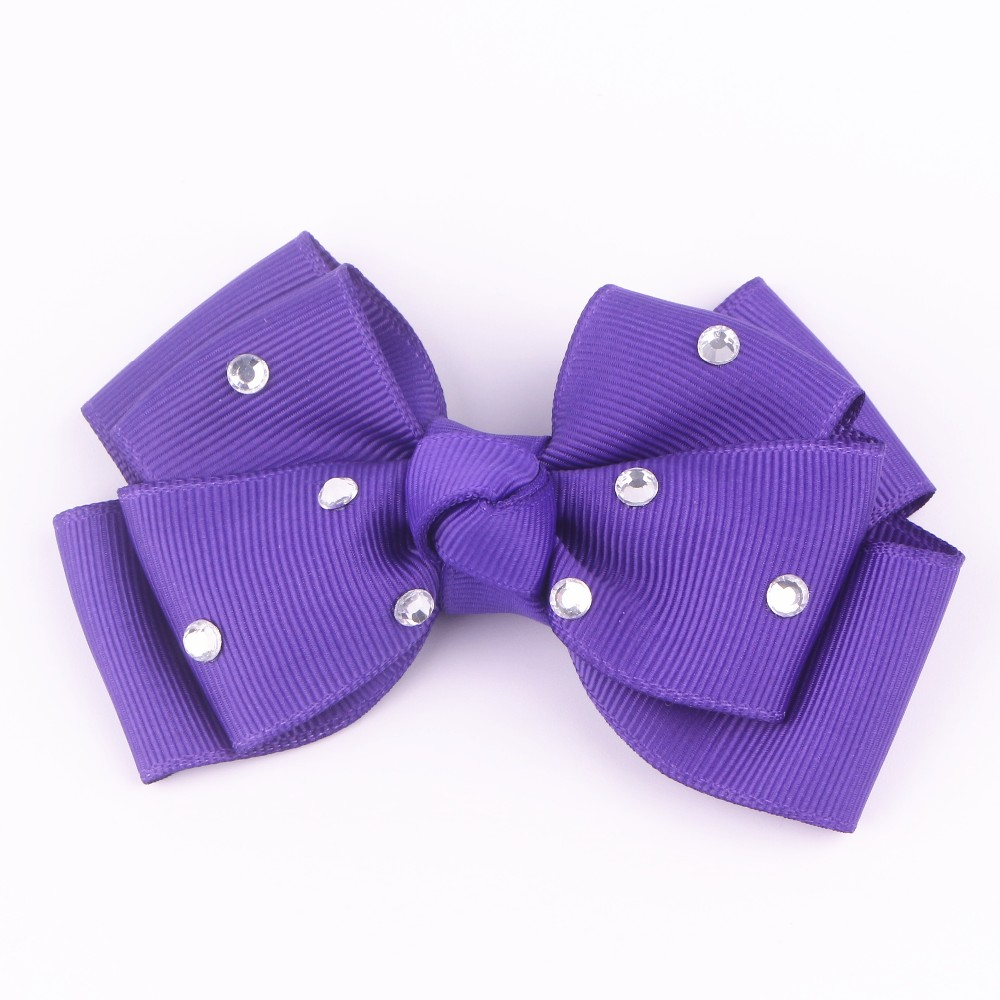 196 colors 4inch grosgrain ribbon hair bows with Clip,baby hairbow,Boutique bow for Children hair accessories
