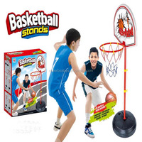 Hotsale mini children portable plastic basketball stand multi hoops ball game for sale