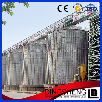 500 to 10000 tons grain storage silo for sale grain silo manufacturers