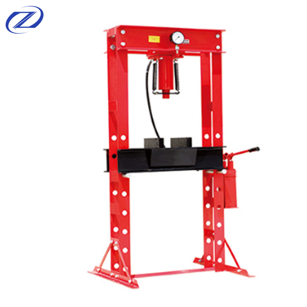 Factory Offer Hydraulic Shop Press 30T With Pressure Gauge