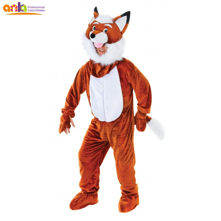 Professional real fox mascot costume with high quality