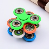Hand Spinner, Dirt Resistant LED Hand Fidget Spinner Toy, Fingertip Gyro Anti Stress metal spinner for Kids & Adults