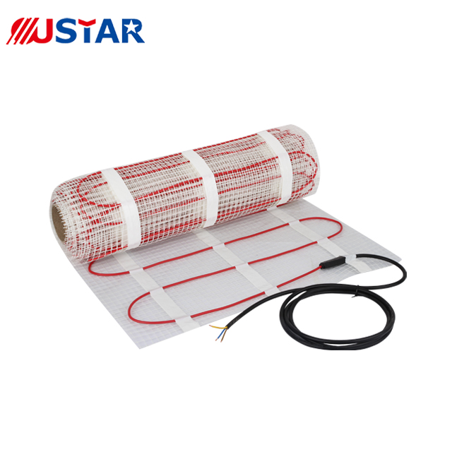 Factory price 120v floor heating cable with mat