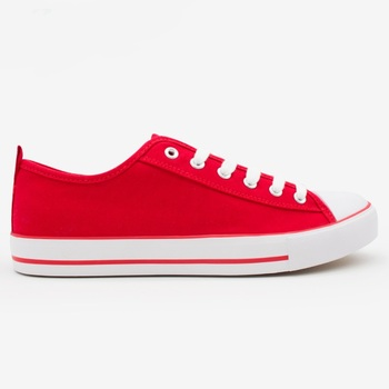 4f7ae7979a70 2018 High Quality Fashion Red Ladies Flat Shoes Casual Canvas Shoes
