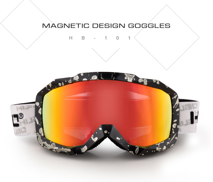 China anti dust motorfietsen bril custom water transfer printing frame OTG motocross goggles
