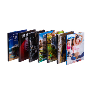 best price customized big publishing house hardcover book printing hot sale