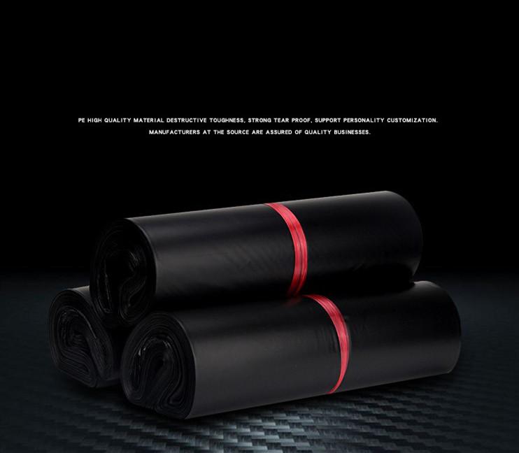 custom Black poly mailer bags plastic mailing envelopes mailers