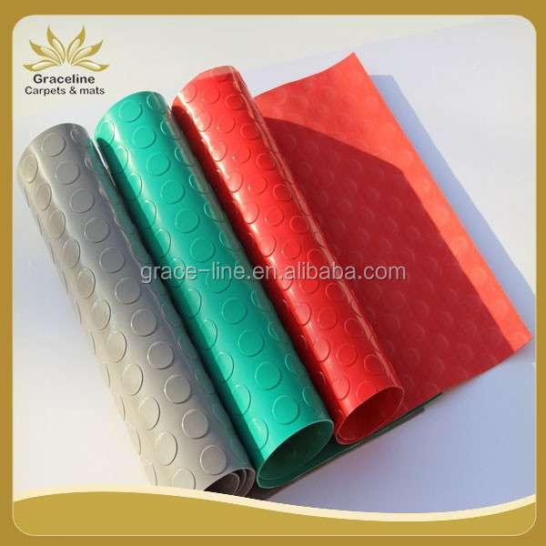 Hight quality Plastic mat rolls used in walkways or passageways