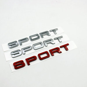 Wholesale Custom die cast abs plastic car logo emblem badge