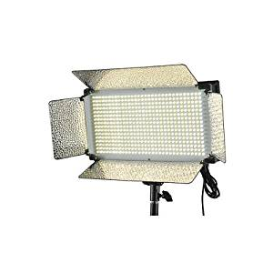 Fancierstudio VL500BI Video Lighting 500 LED Video Light Bi Color Dimmer V Mount Color Changing Lighting Panel by Fancierstudio VL500BI