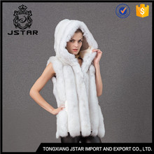 High Quality Cheap Gilet Rabbit Ball Cute Accesory Real Fox Fur Vest