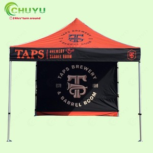 Factory 3x3m Aluminum Square Folding Tent For Sale
