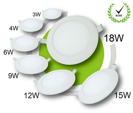 CE RoHS 프로모션 작은 미니 라운드 LED 패널 빛 최근 led 패널