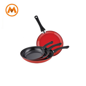 forged shape non stick carbon steel fry pan