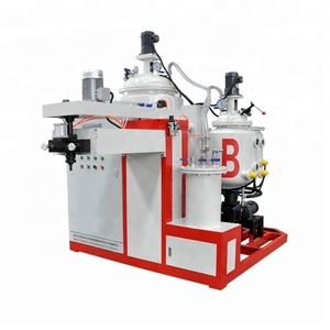 Firm High temperature resistant pu elastomer casting machine