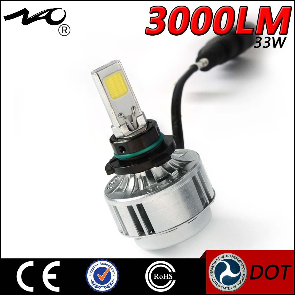 NAO factory Advanced technology and most high grade 33W 3000LM 80w led high bay light auto headlights