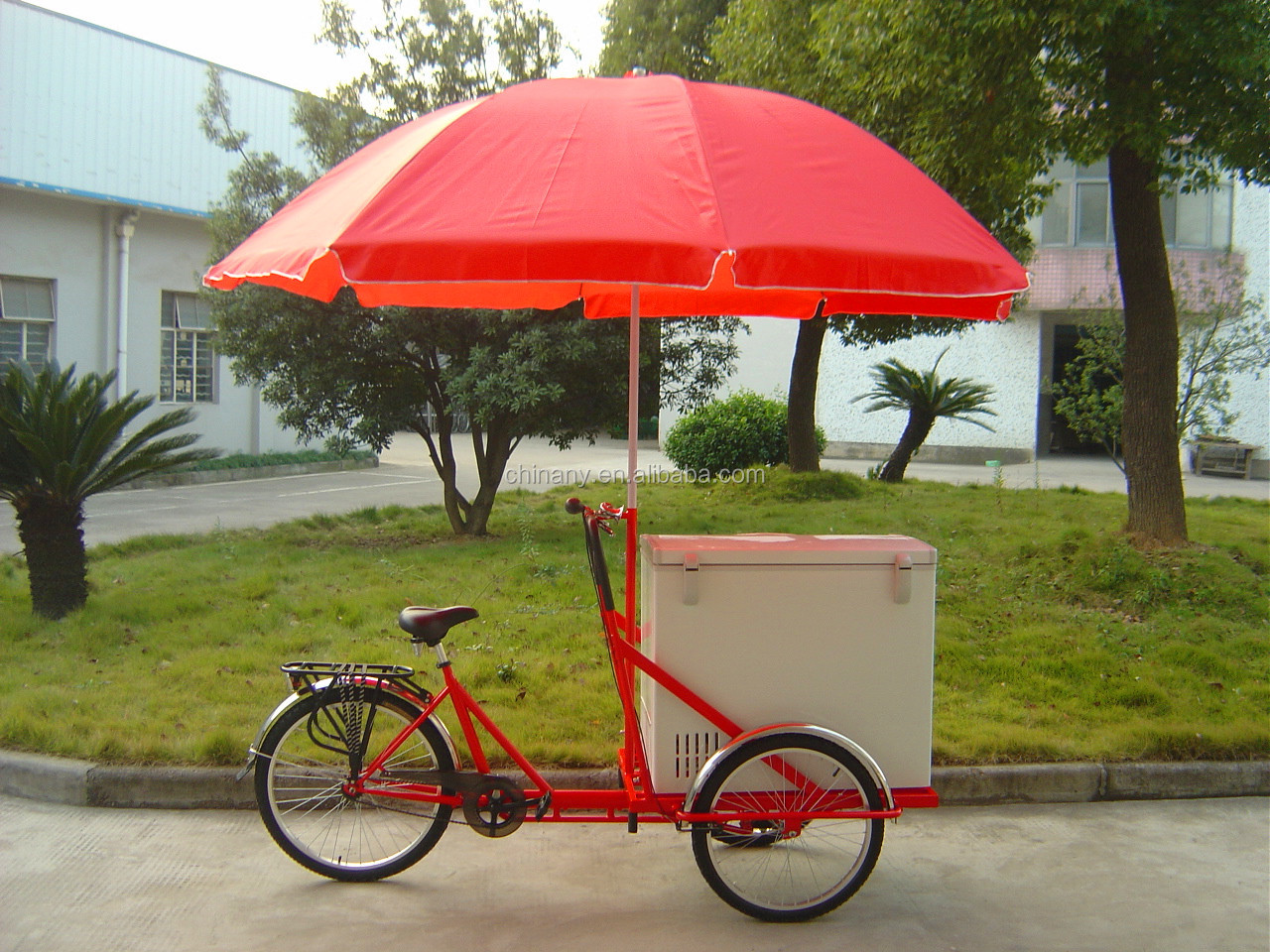 Three wheels ice cream bike for sale