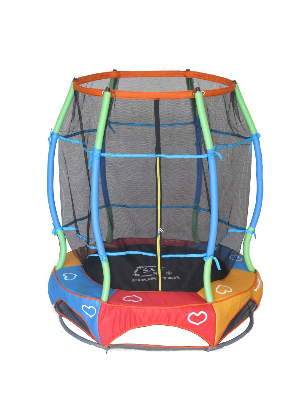 55inch indoor mini gymnastics trampolines for kids