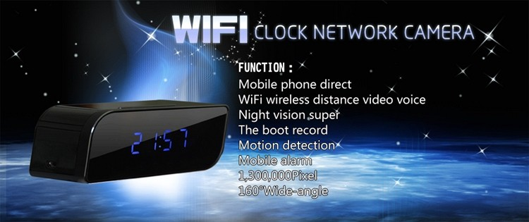 Best-selling Ep-701 Ir Night Vision Camera Hidden Spy Camera Clock ...