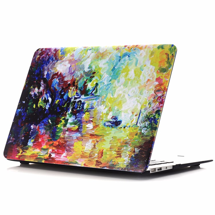 Unique Design Oil Painting Pattern case for macbook cover