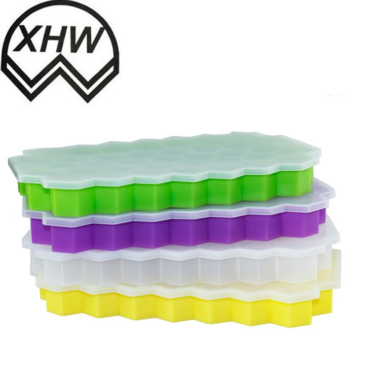 Flexible Silicone Ice Tray,Round Ice Ball or baby food freezer storage