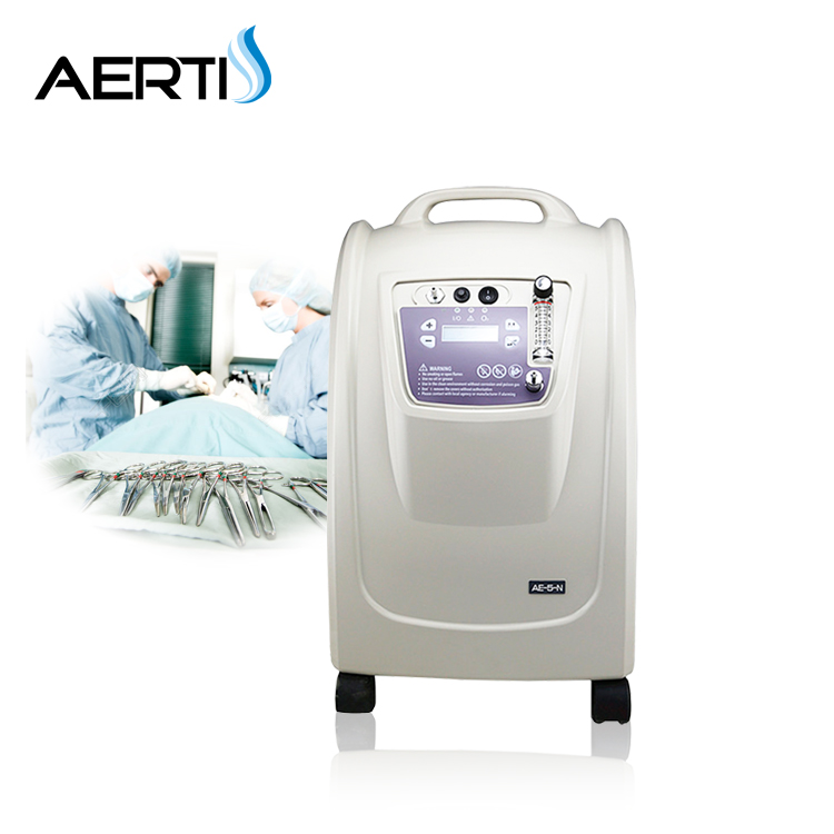 CE marker 8L industrial oxygen concentrator/medical oxygen concentrator/low  price oxygen concentrator, View industrial oxygen concentrator, AERTI