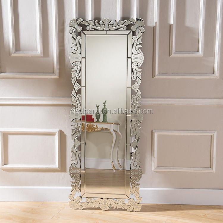 Grande standing rettangolo specchio veneziano con vetro classico buy vetro classico rettangolo - Lastre di specchio ...