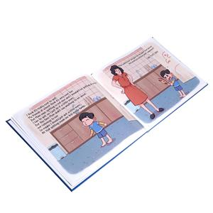 Free design pop up fanny comic custom print children books