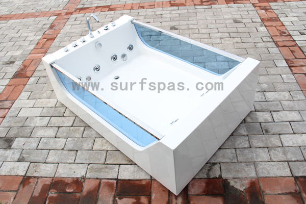 Vasca Da Bagno Quadrata Dimensioni : 2 persone di vetro vasca da bagno freestanding vasca vasca quadrata