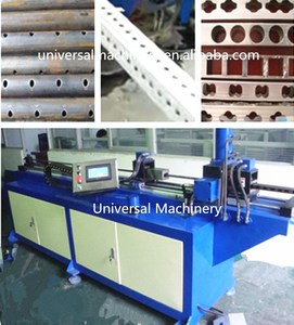 High accuracy CNC Automatic Pipe Hole Punching Machine