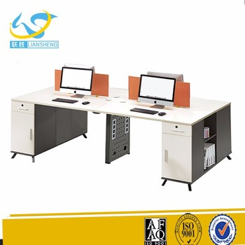 Cheap Price Foshan Furniture Staples Double Computer Desk For Internet Cafe Buy Double Computer Desk For Internet Cafe Computer Desk For Internet