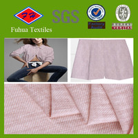 thin polyester linen fabric for making shirt linen shirt fabric making factory
