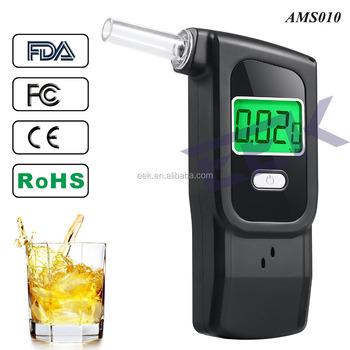 Digital Alcohol Breathalyzer Professional Grade Portable Digital Alcohol  Tester With 5 Mouthpieces -black - Buy Digital Alcohol Breathalyzer,Digital