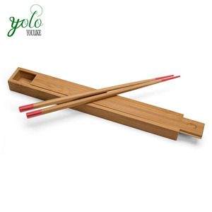LFGB,FDA,FSC Cert.Bamboo Chopsticks Case Storage Box