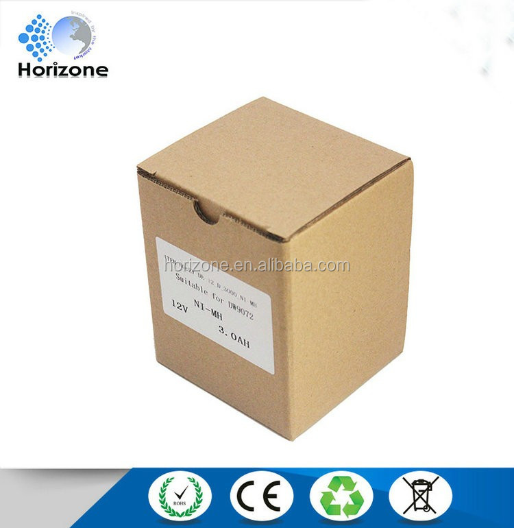 3000mAh NI-MH 12v battery