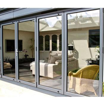 Morden Custom Aluminium Door Veranda Grill Design Sliding Door
